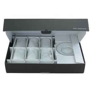 Helezon Platin Çay Takımı (6 Çay Bardağı + 6 Çay Tabağı )